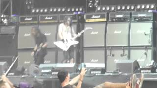Airbourne - Bottom of the Well - live @ Greenfield Festival, Interlaken 13.6.15