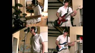 Weezer - Island in The Sun [COVER] Drums Bass Guitar and singing!