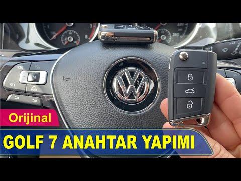 VW Golf 7 Anahtar Yapımı | Yedek Kopyalama - Oto Anahtarcı İstanbul
