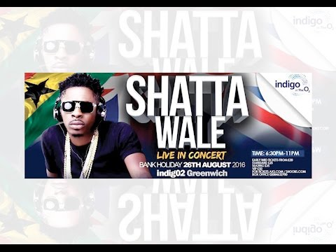 SHATTA WALE - LIVE IN LONDON 2016 (Full Length Show)