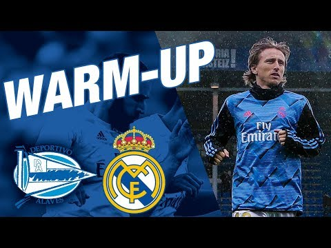 Alavés 1-2 Real Madrid | Pre-match Warm Up!
