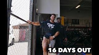 Bodybuilding motivation leg workout | shawn rhoden & regan grimes 16 days out