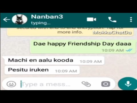 Friendship Day Chats , SINGLES  DA , Mokka Chat Da 3 | Friendship Day Chats | Mokka Chat