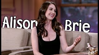 Every Single Time Alison Brie was with Craig Ferguson! (HD)