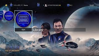 Star Trek Online: Rise of Discovery Free PS4 Theme