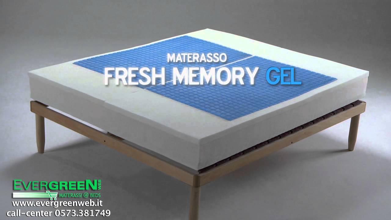Materassi Fresh Memory Gel.Intro Materasso In Fresh Memory Gel Youtube