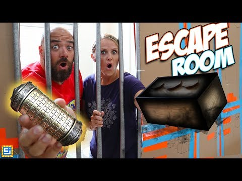 24 Hour Giant Box Fort Mystery Escape Room Surprise on Mom & Dad!