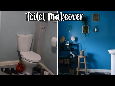cloakroom/downstairs-toilet-makeover-on-a-budget-|-shamsa
