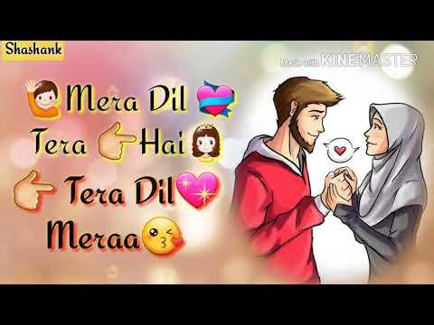 Tum todo na dil mera...   female version    Ash king; Bela shende    whatsapp status video....