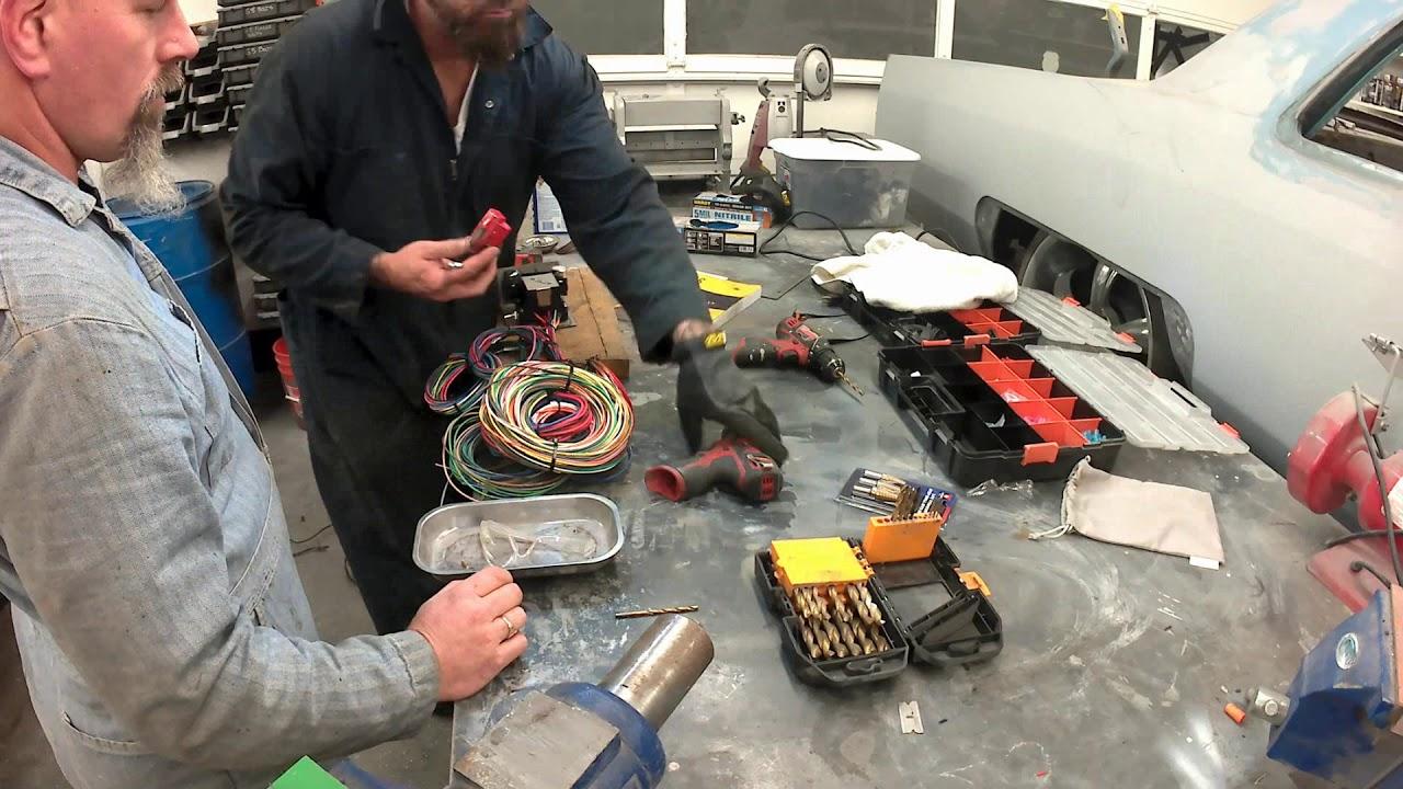 installing a kwik wire harness in a 1966 amc rambler ray u0027s rusty mercury wiring [ 1280 x 720 Pixel ]