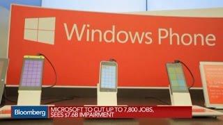 Microsoft to Eliminate 7,800 Jobs