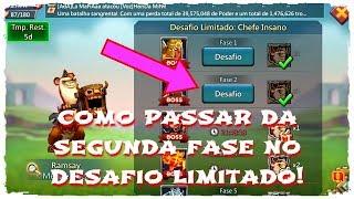 COMO PASSAR DA 2ª FASE DO DESAFIO LIMITADO! thumbnail