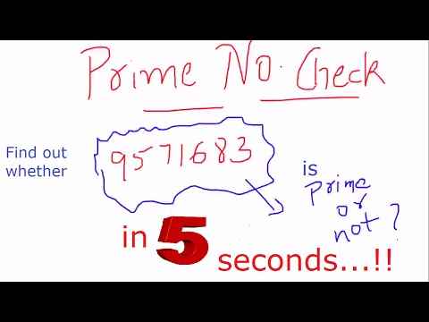Prime and composite numbers. How to tell if larger number is prime | Team MAST