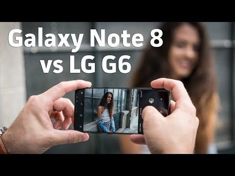 Samsung Galaxy Note 8 vs LG G6   Camera Shootout