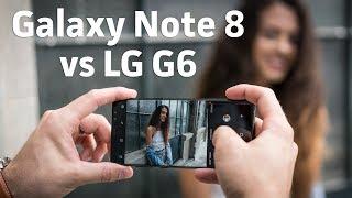Samsung Galaxy Note 8 vs LG G6 | Camera Shootout