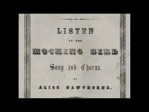 LISTEN TO THE MOCKINGBIRD -1855-VOCAL-Performed by Tom Roush