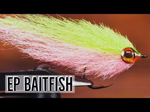 EP Baitfish Fly   Tying Tutorial