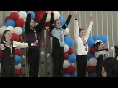 Hailey Wells Level 8 Washington State Championships 2008 First Place All-Around