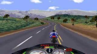 Road Rash (PC) Windows 95 Napa Valley level 5