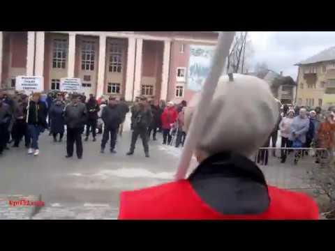 Митинг в Фокино против сжигания мусора, ч.2. Брянская обл. 13.4.2019 года.