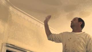 http://how-to-paint.info The best way to treat a ceiling when you h...