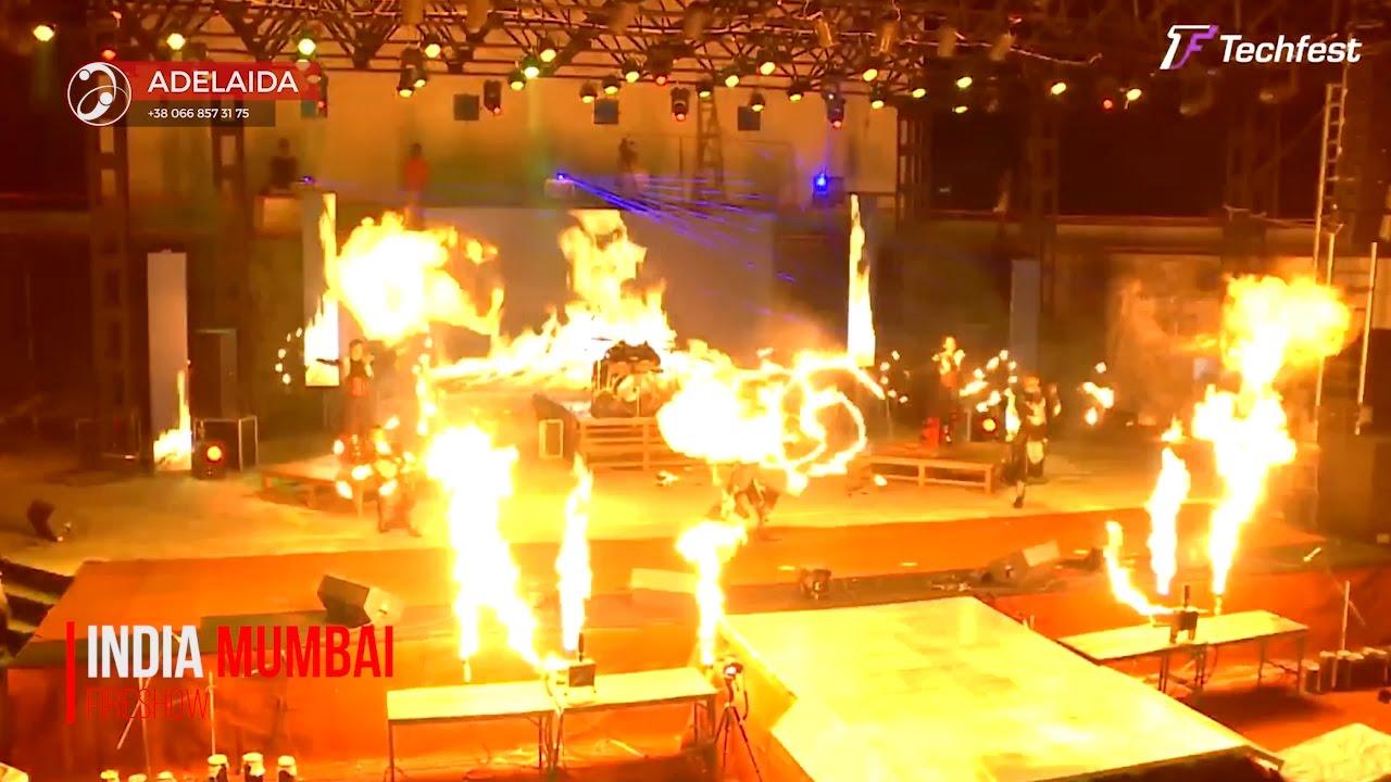 Фаер шоу Adelaida - огненное шоу, световое шоу, неоновое шоу.