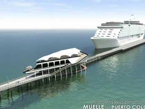 Propuesta sobre el muelle de Puerto Colombia.