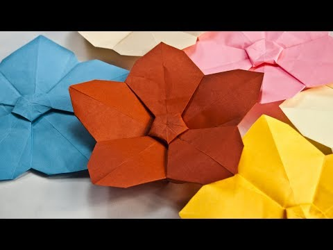 Origami Kusudama Flower - YouTube | 360x480