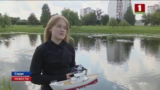 Студентка из Слуцка победила на чемпионате мира по судомодельному спорту