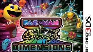 Pac-Man and Galaga Dimensions Gameplay {Nintendo 3DS} {60 FPS} {1080p}