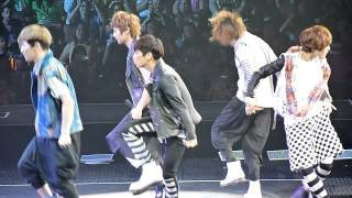 SMTOWN LA 2012 ~ SHINEE ~ CLUE @ DRESS REHEARSAL