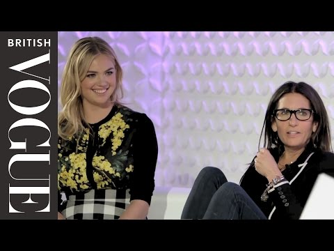 Bobbi Brown and Kate Upton | Vogue Festival 2015 | British Vogue