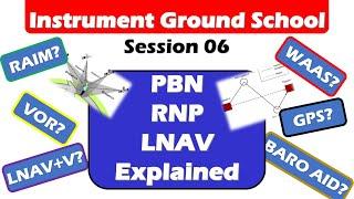 Download Free Instrument Training 06: PBN, RNP, LNAV, VNAV, VOR Explained