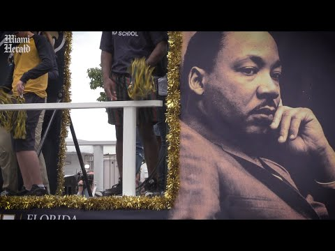Residents of Miami remember and honor civil rights leader Martin Luther King Jr.