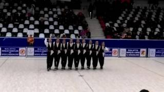 Malatya Halk Oyunları 2016 Battalgazi Gençler Ekibi Sivike oyunu