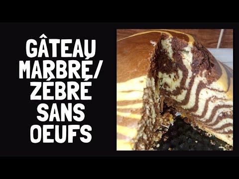 n°22-||-recette-de-gâteau-marbré-zébré-moelleux-et-sans-oeufs-//-zebra-cake-//-||-en-sub-||