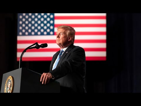 President Trump Delivers Remarks at the 450th Mile of New Border Wall