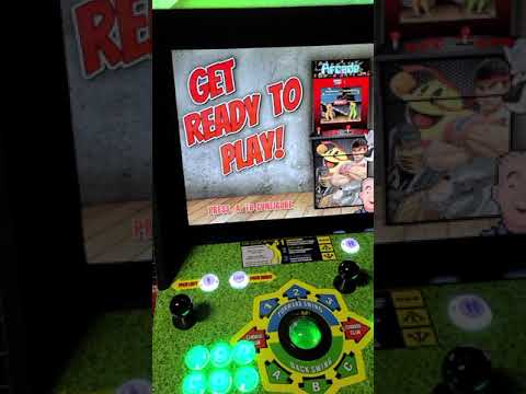Golden tee arcade1up upgrade 2400 games from J M Arcades