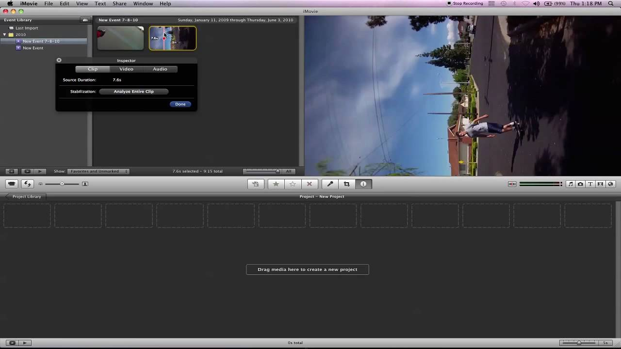 how to make a documentary using imovie