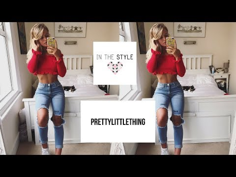 HUGE TRY ON CLOTHING HAUL | Pretty Little Thing & In The Style!