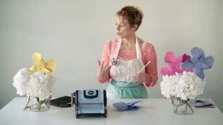 Sizzix Diy Parties And Events   Beach Party Pinwheels