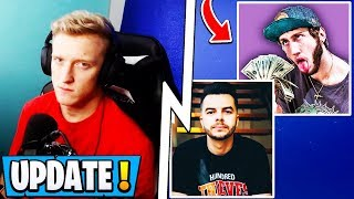 *NEW* Fortnite Update! | Tfue Sues Faze Clan, Stealing Money, Banks!