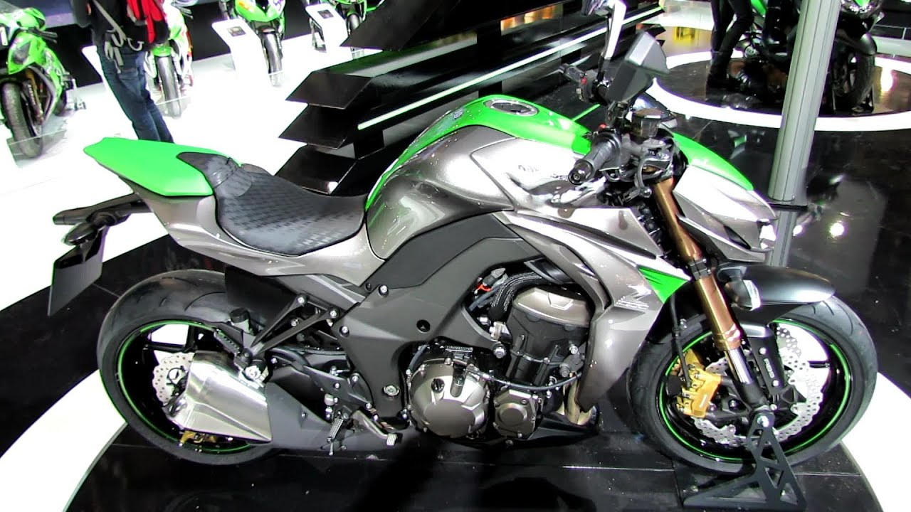 2014 Kawasaki Z1000 Walkaround  Debut at 2013 EICMA Milan Motorcycle Exibition  YouTube