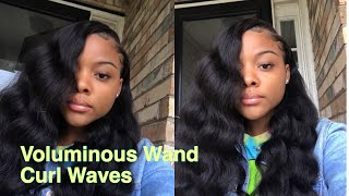 Voluminous Wand Curls ft . Beauty Forever + Giveaway UPDATE ❤️