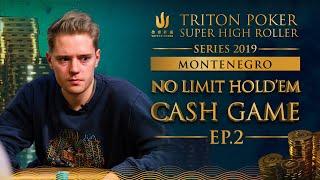 NLH Cash Game Episode 2 - Triton Poker SHR Montenegro 2019