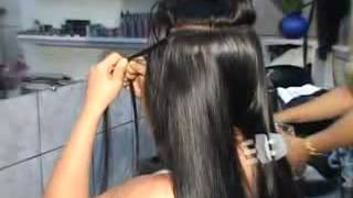 Mega Hair No Micro Ponto Arabesko