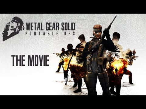 Metal Gear Solid: Portable Ops - The Movie [HD] Full Story