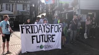 Fridays for future in Monschau