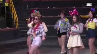 160206 SBS The Boss is Watching TWICE × BTS cut
