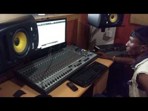 Giant Beats studio , Abuja with kaydee